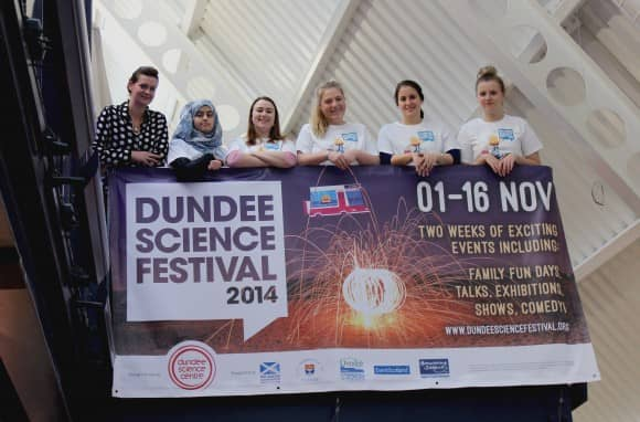 Dundee Science Festival - Abertay students - 2