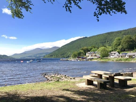Kenmore, Loch Tay (front cover of new PSPC Guide)