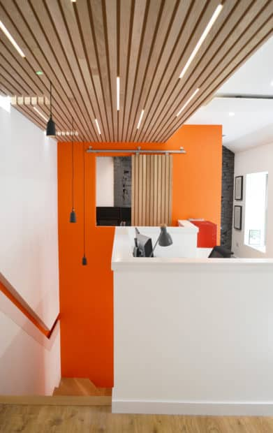 Andrew Black Design's award-winning office in Dundee