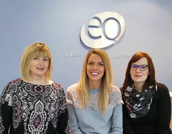 L-R: Jenny Law – HR & Training Manager; Kirsty Moss – HR Assistant; Katie Edward – HR Assistant (Chartered MCIPD)