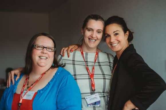 Programme members L-R: Debbie Bolton, Karen Hamilton, Lindsey-Anne Knox