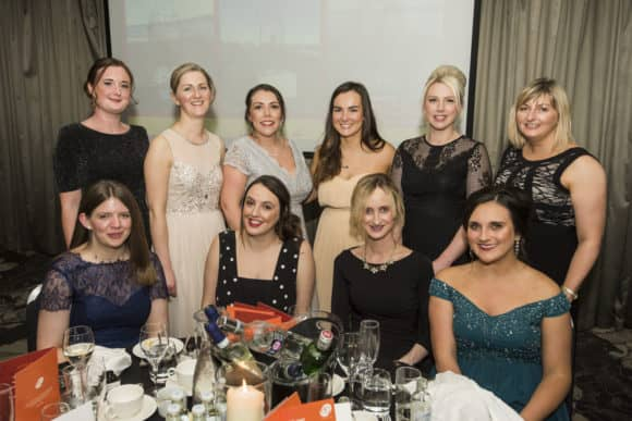 EQ's Dundee table at Charity Ball on Saturday night